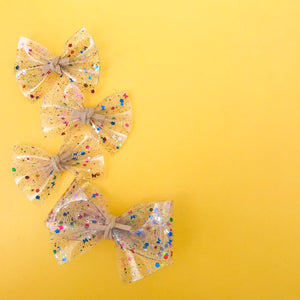 ALICE BOW // jelly confetti bow