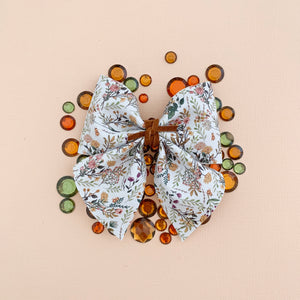 SADIE BOW // fall floral