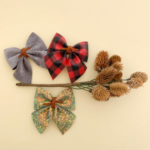 BABY SADIE BOW // fall set