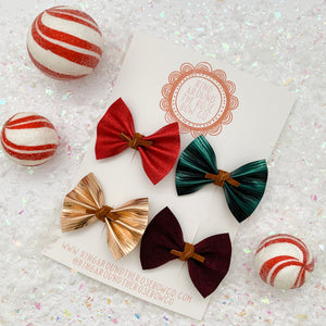 RAELYNN BOW // holiday solids set