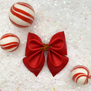 SADIE BOW // red shimmer