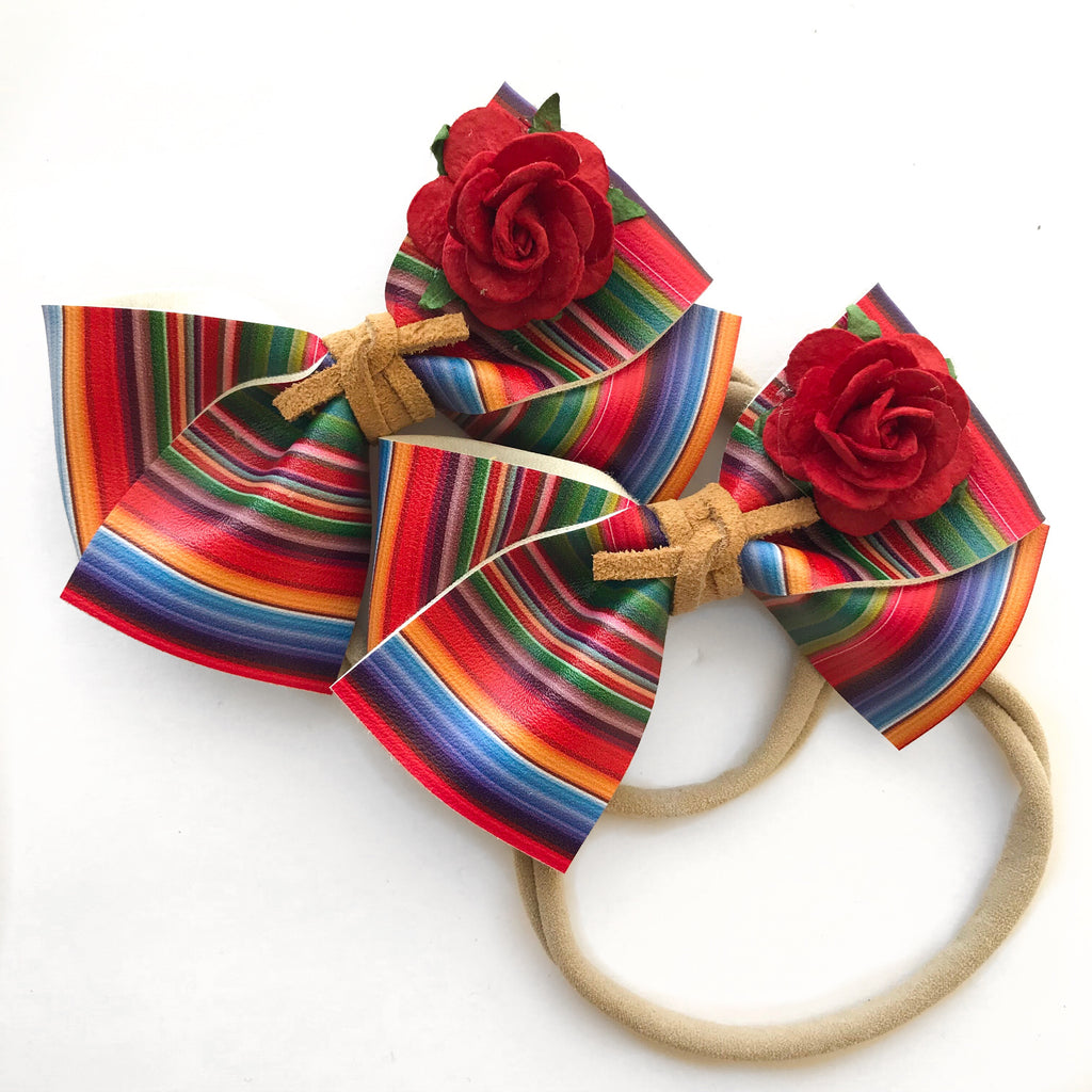 ALICE BOW // fiesta bow