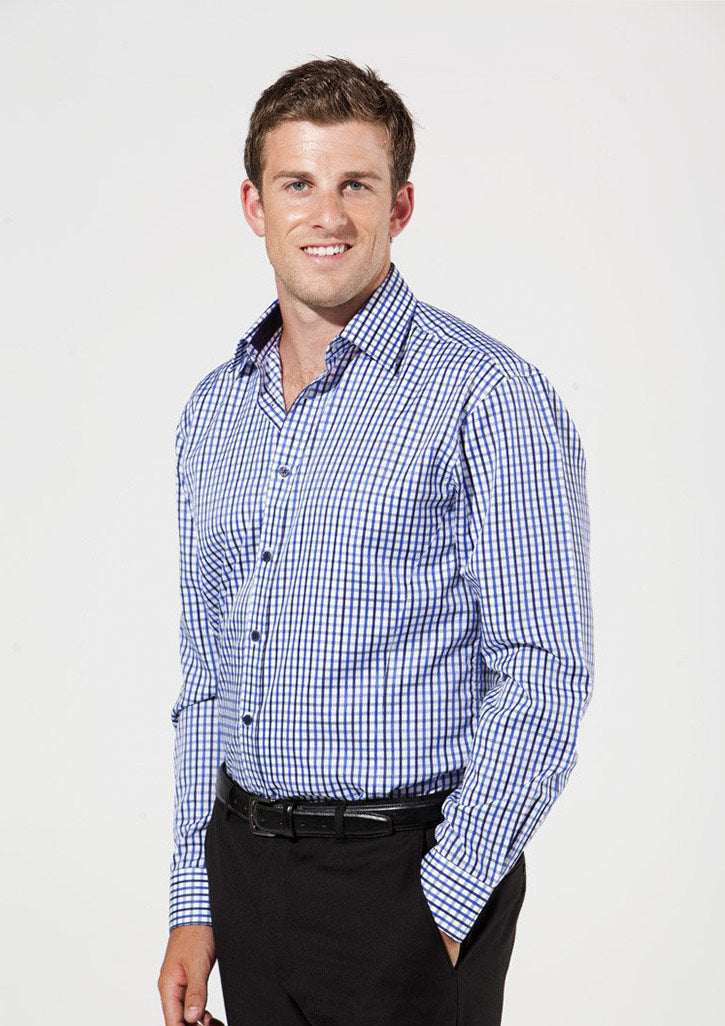 shirts-0112-Lichfield-Mens-Everyday-Check-Shirt