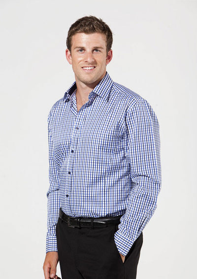 shirts-0112-Lichfield Mens Everyday Check Shirt