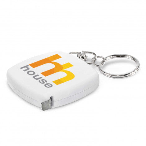 tape-measure-key-ring-promotional-white-100308