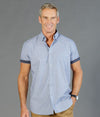 Smith End on End Short Sleeve Mens Shirt-1253HS