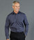 Smith End on End Long Sleeve Mens Shirt-1253l-Gloweave