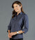 Smith End on End 3/4 Sleeve Womens Shirt-1253wl