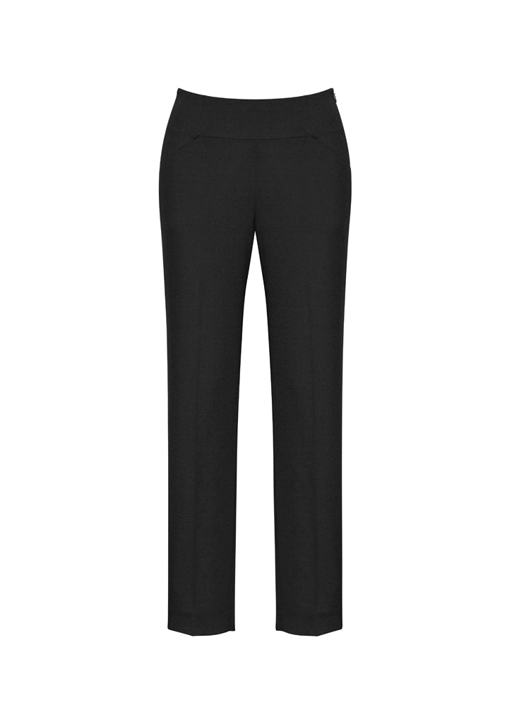 14021 Ladies Bandless Slim Leg Pant