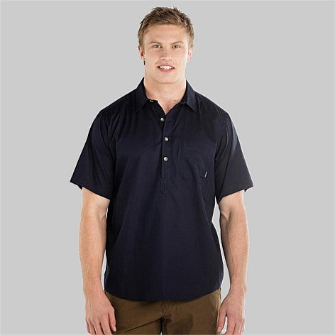 Paihia Mens Short Sleeve Cotton Shirt