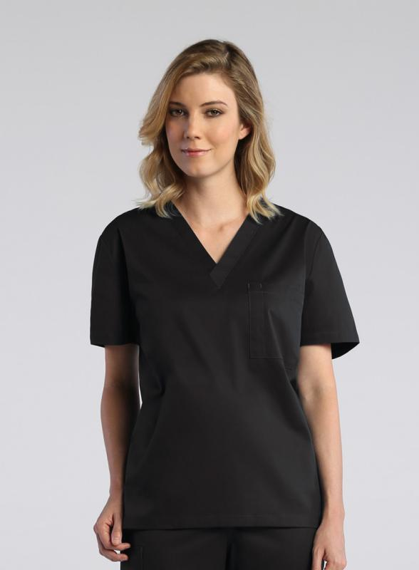 unisex-v-neck-scrub-top-1706