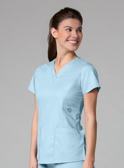 V-Neck Pocket Scrub Top