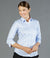 Landsdowne Micro Step Womens 3/4 Sleeve Shirt-1709wl