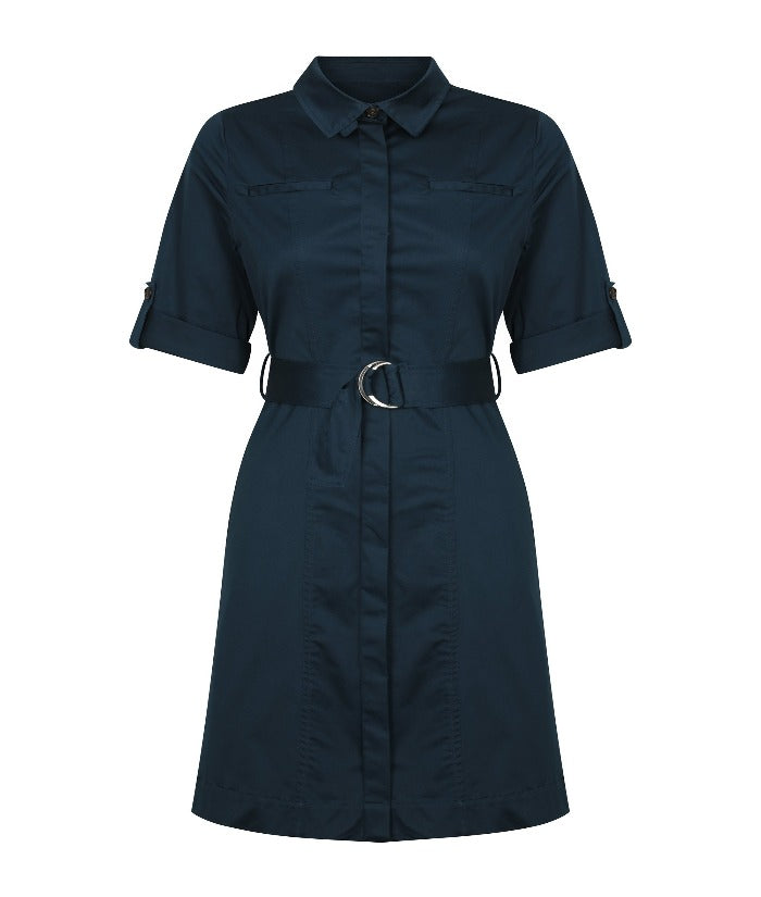 womens-dresses-nz-riley-sateen-belted-shirtdress-1894wd-career-by-gloweave