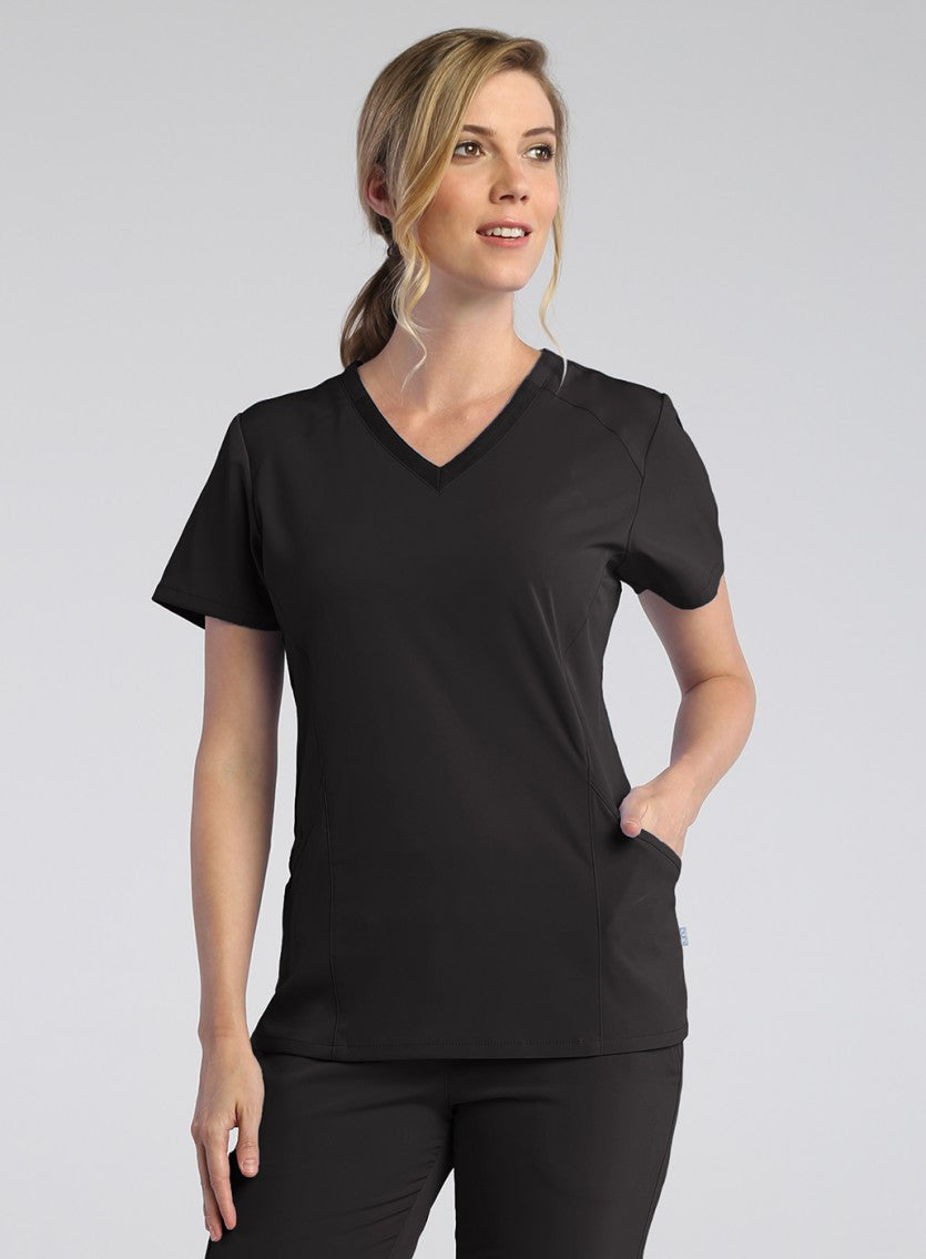 Pure Modern V-neck Top-1902-Maevn