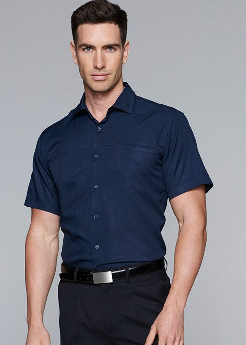 1904S-Mens Springfield Short Sleeve Shirt