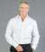 Ultimate White Long Sleeve Mens Shirt - Slim Fit