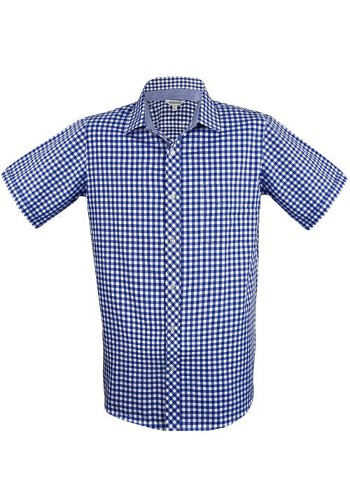 1909S-Mens Brighton Short Sleeve Shirt