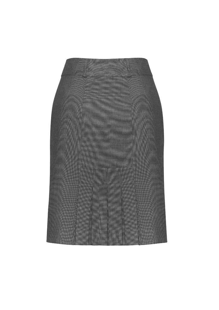 Womens Panelled Skirt with Rear Split-20316