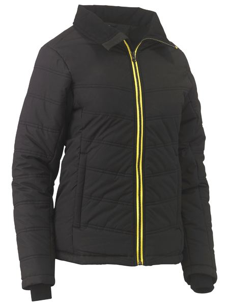 Bisley Womens Puffer Jacket. Black or Navy