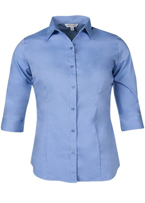 Lady Mosman 3/4 Sleeve Shirt-2903T-aussie-pacific