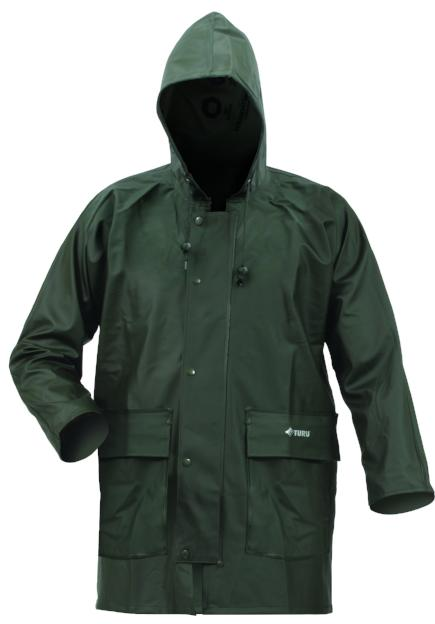 2TPARKA-Bison Premium Weight PVC Parka