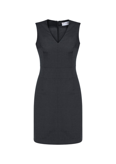 Ladies Sleeveless V Neck Dress