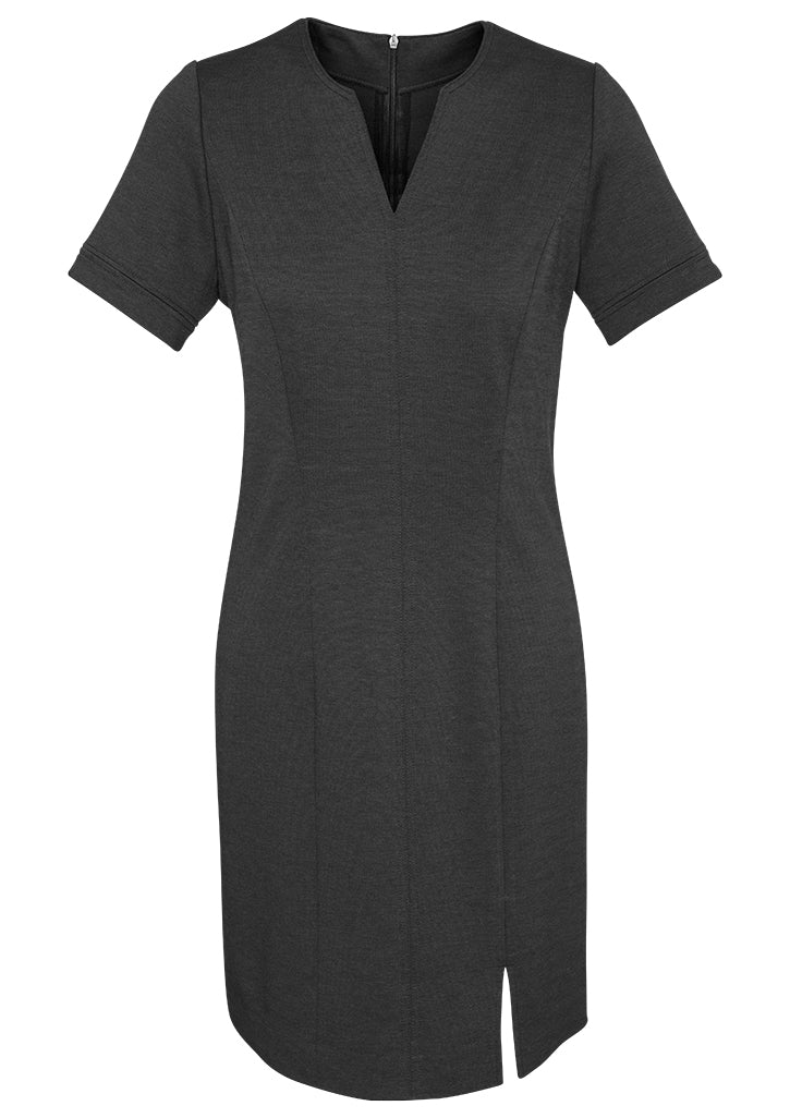 dresses-30620-Ladies Open Neck Dress