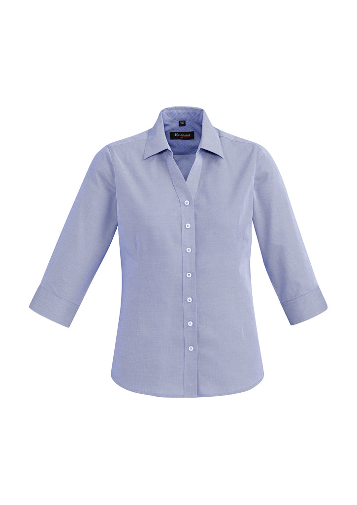 Hudson ladies 3/4 sleeve shirts-40311