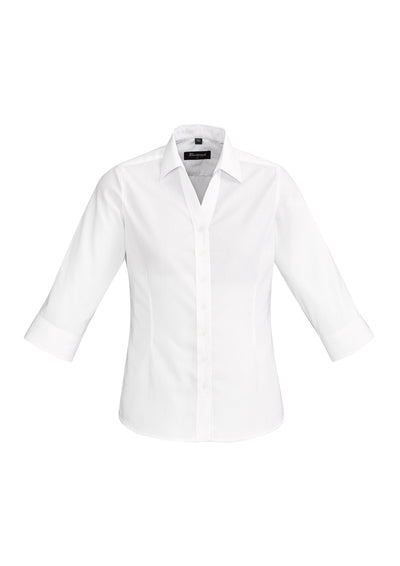 Hudson Ladies 3/4 Sleeve Shirt