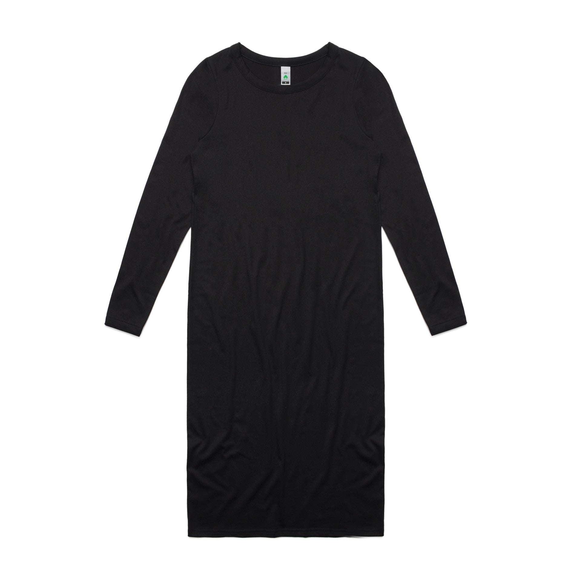 Womens Mika Organic Long Sleeve Dress-4033-as-colour