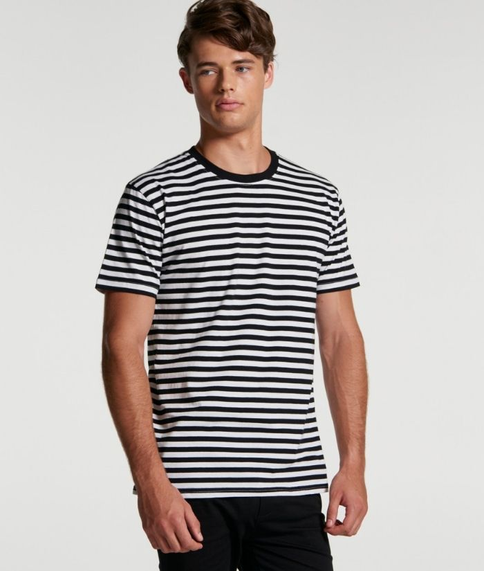 AS-Colour_Mens-striped-staple-tee-cafe-barista-chef-100%-cotton