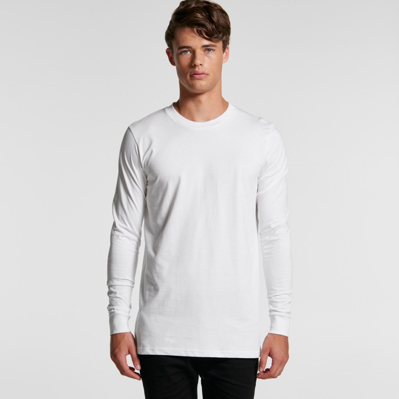 Mens Base Organic L/S Tee-5029g-as-colour