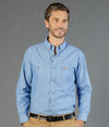 Icon Mens Long Sleeve Work Shirt-5045ln-career-by-gloweave