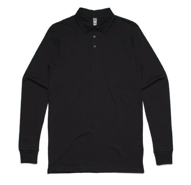mens-as colour-long-sleeve-chad-polo-100%-cotton-5404-marle-grey
