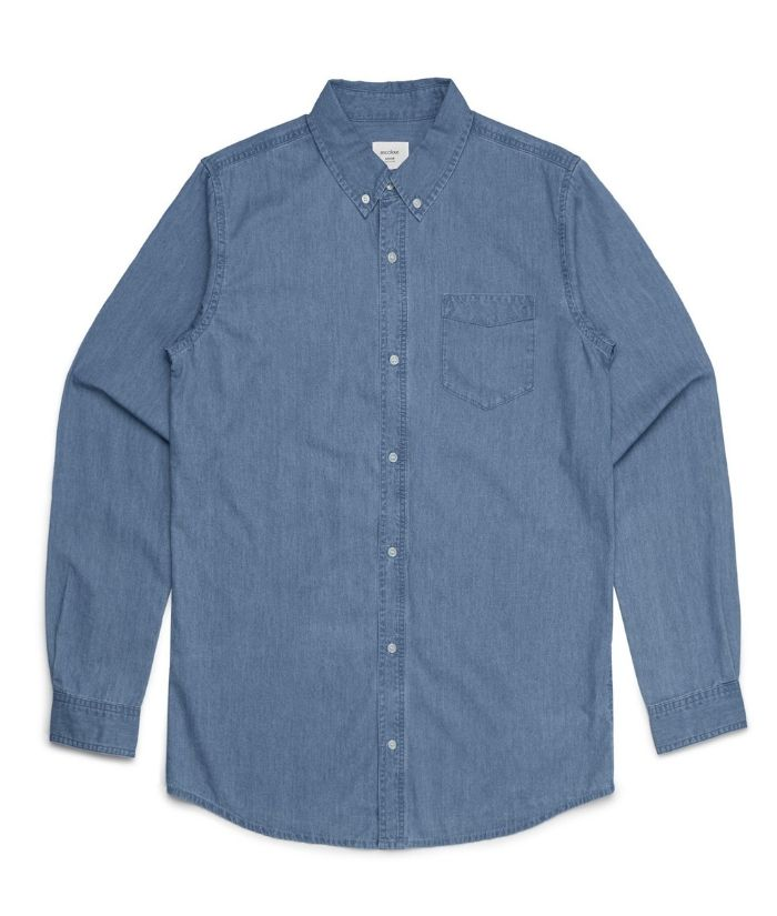 Mens-Blue-Denim-Long-Sleeve-Shirt-5409-as-colour