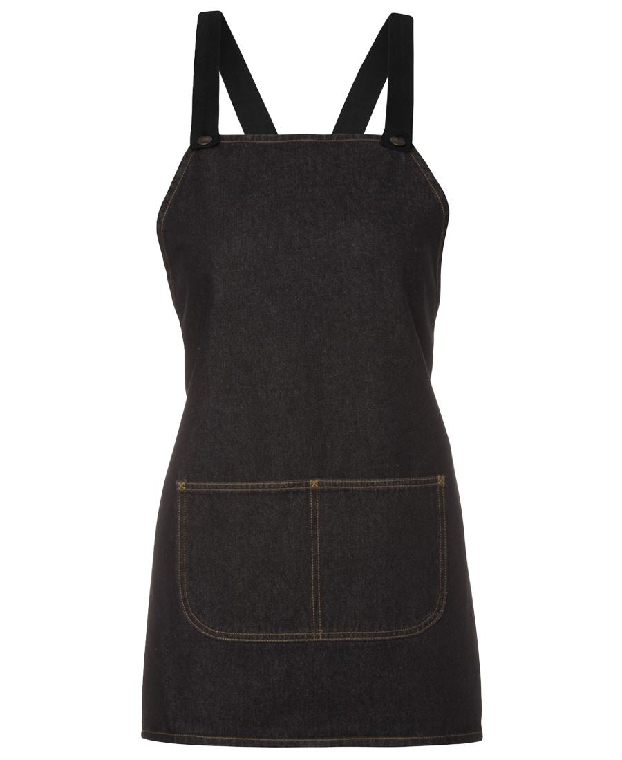 aprons-5acbb Cross Back Denim Apron