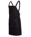 Cross Back Denim Apron - 85cm x 78cm