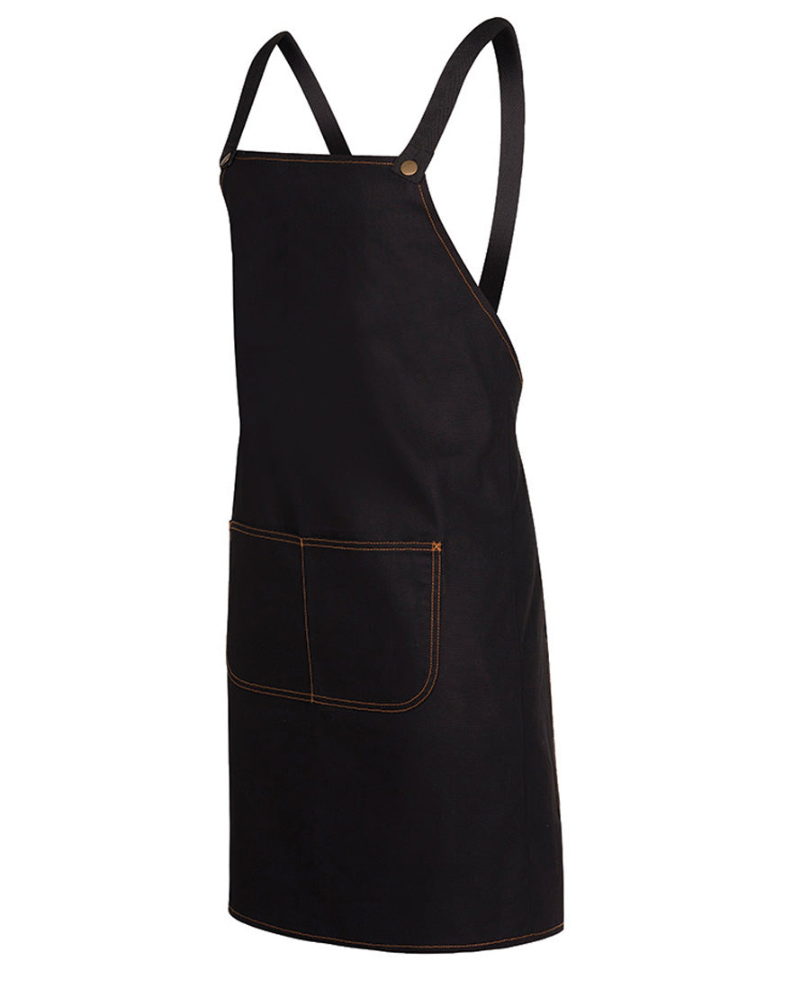Canvas cross back aprons - 5acbd bib