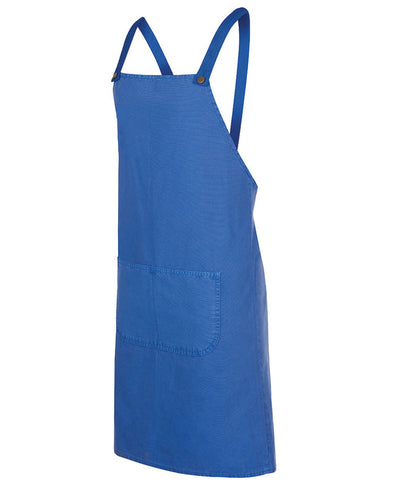 Canvas Cross Back Apron, 85cm L x 78cm W - without straps