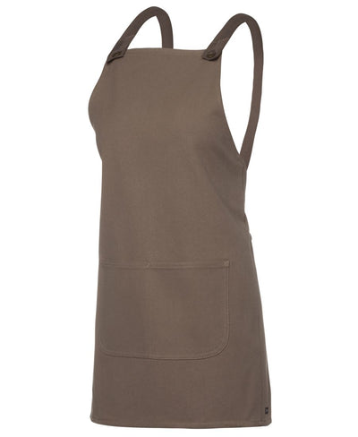 5ACBE - JB's Canvas Cross Back Apron - Latte