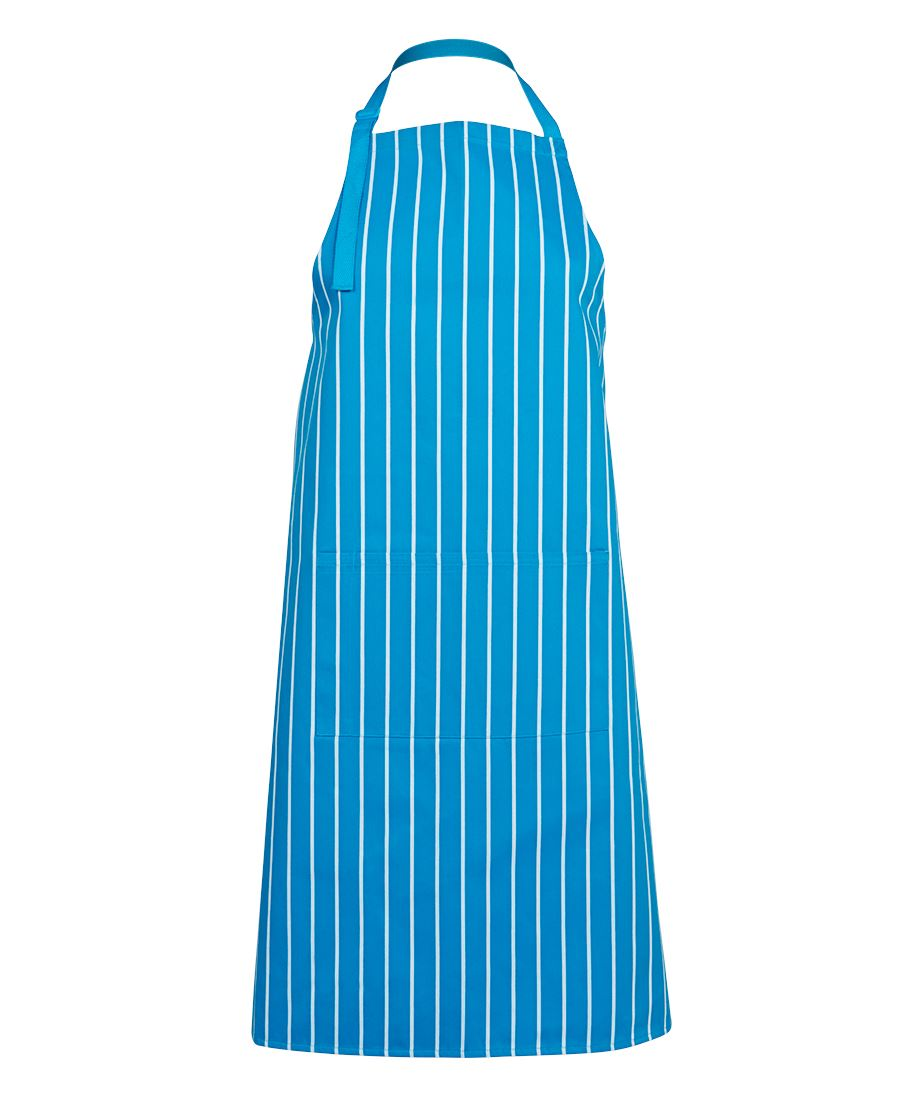 aprons-5bs strip bib apron with pocket