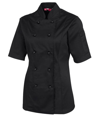 Ladies Chef's Jacket - Short Sleeve