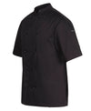 Vented Unisex Chef's Jacket - Short Sleeve