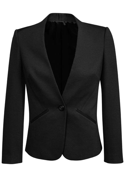 Ladies Collarless Jacket