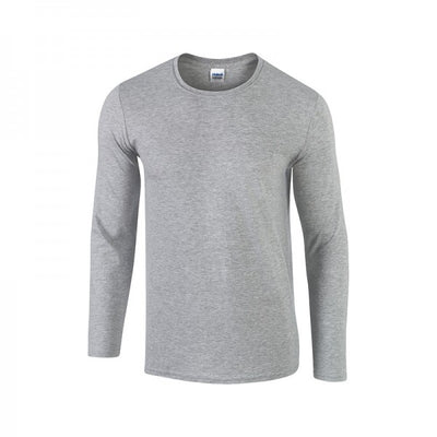 Gildan Adult 100% Cotton, Long Sleeve T-shirt