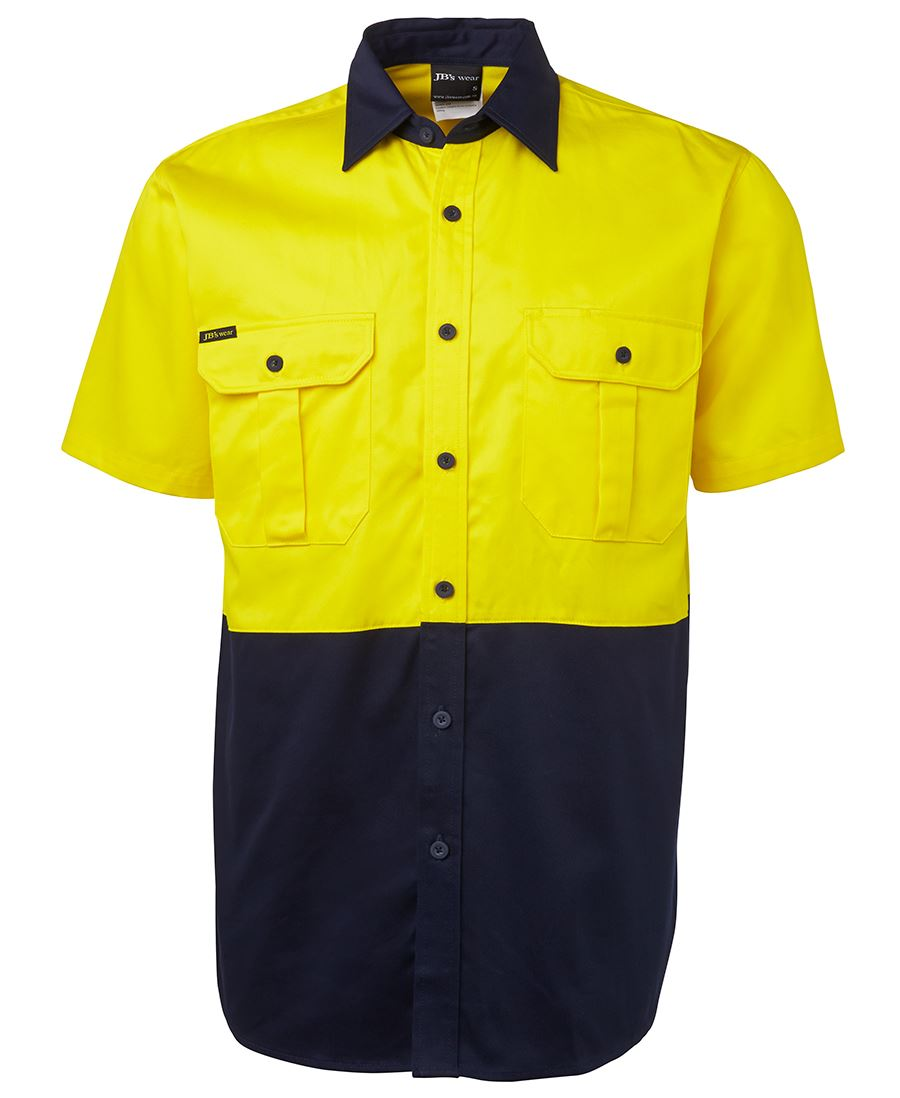 Hi Vis Short Sleeve Day Only, 150G Shirt-6hws