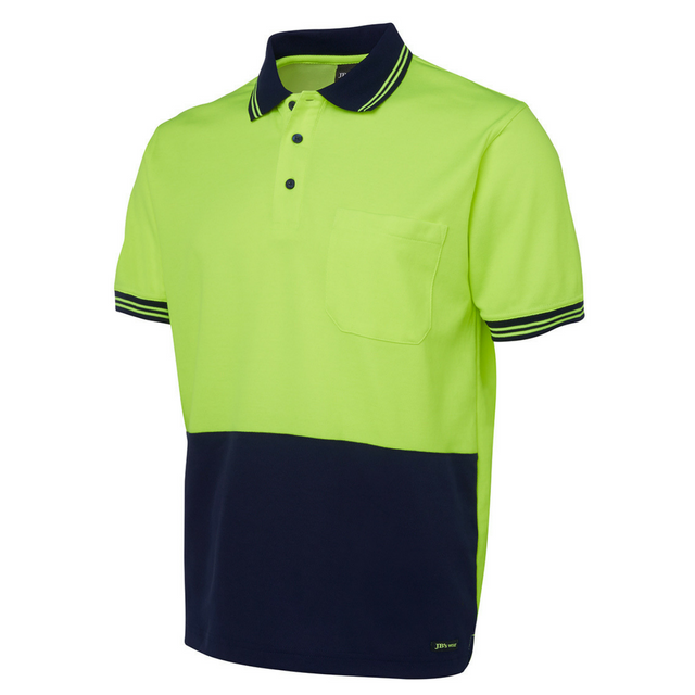 Hi Vis Cotton Back Polo-6hps