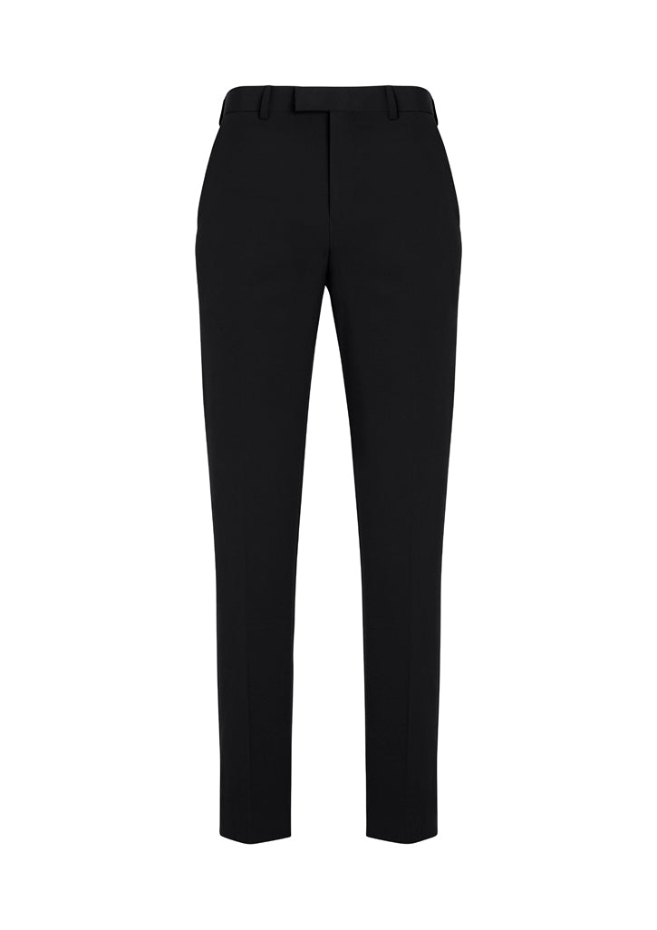 Mens Slim Fit, Flat Front Pant - Stout Fit