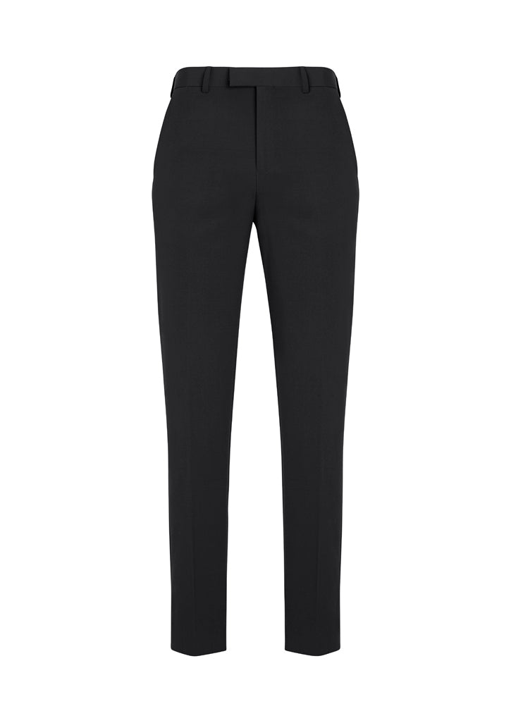 Mens Slim Fit, Flat Front Pant - Regular Fit
